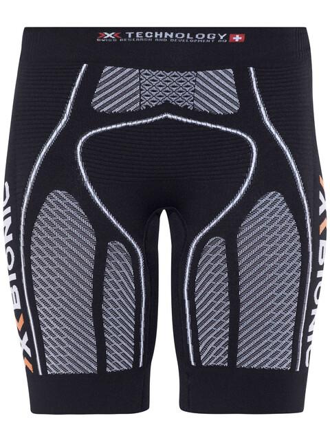 X-Bionic The Trick Running Pants Short Women Black/White